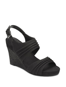 A2 by Aerosoles May Plush Wedge Sandals