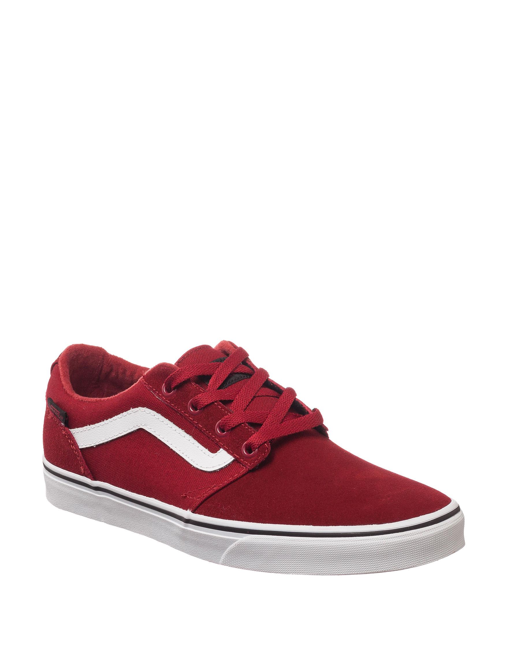 Vans Red