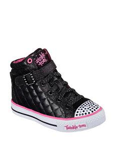 Skechers® Twinkle Toes Sweetheart Hi Top Shoes – Girls 11-3