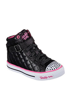 Skechers® Twinkle Toes Sweetheart Hi Top Shoes – Girls 11-3