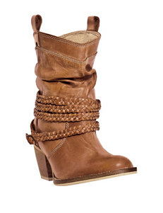 Dingo Twisted Sister Heeled Western Boots