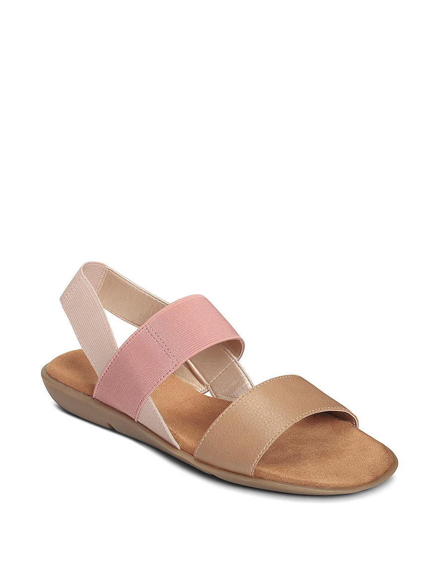 A2 by Aerosoles Nude Flat Sandals