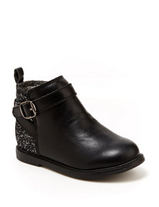 Carter's Black Ankle Boots & Booties
