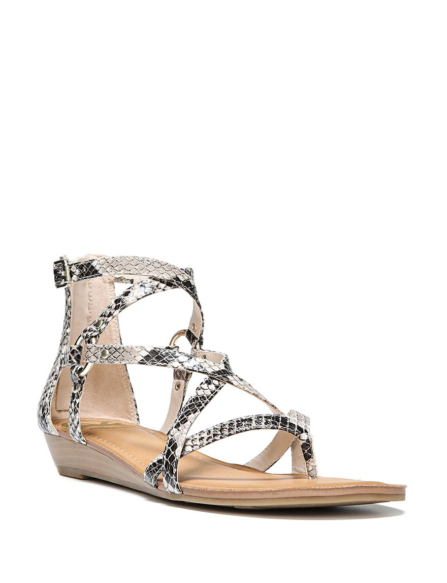 Fergalicious by Fergie Natural Gladiators Wedge Sandals