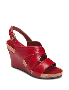 A2 by Aerosoles True Plush Wedge Sandals