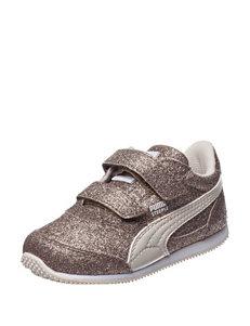 Puma® Steeple Glitz Glam V Athletic Shoes – Toddler Girls 5-10