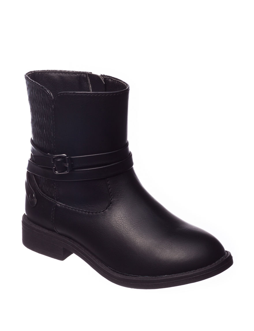 143 Girl Black Ankle Boots & Booties