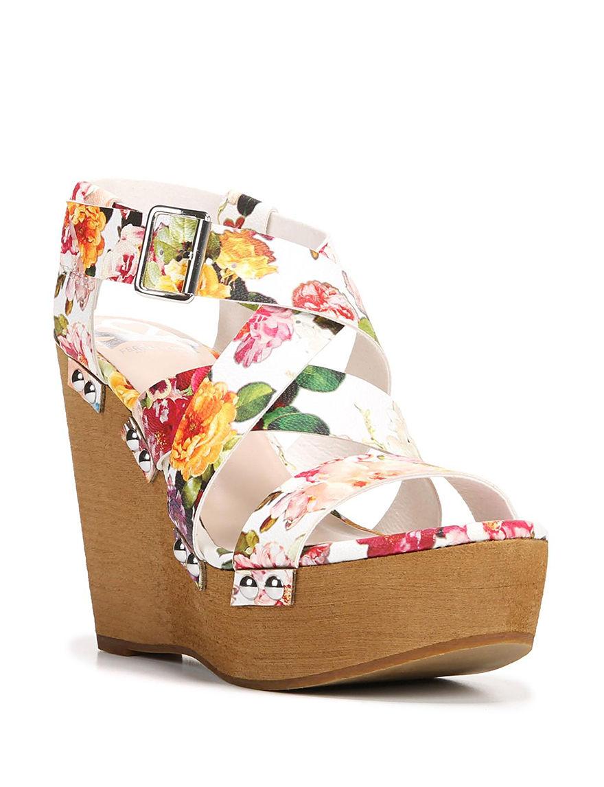 Fergie  Wedge Sandals