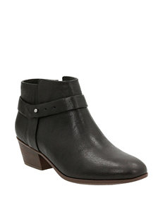 Clarks Black Ankle Boots & Booties