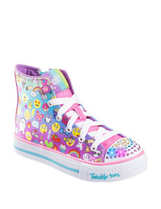 Skechers® Twinkle Toes: Shuffles Chat Time Shoes – Girls 11-3