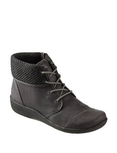 Clarks Grey Ankle Boots & Booties