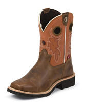 Tony Lama 3R Tan Comanche Buffalo Western Boots – Kids 1-6
