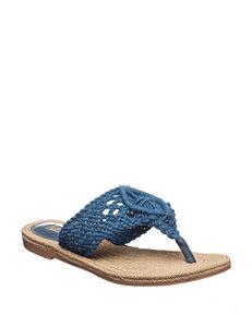 MIA Navy Flip Flops