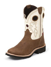 Tony Lama 3R Bark Cheyenne Buffalo Western Boots – Toddlers 8-13