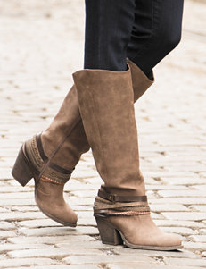 Jellypop Brown Riding Boots