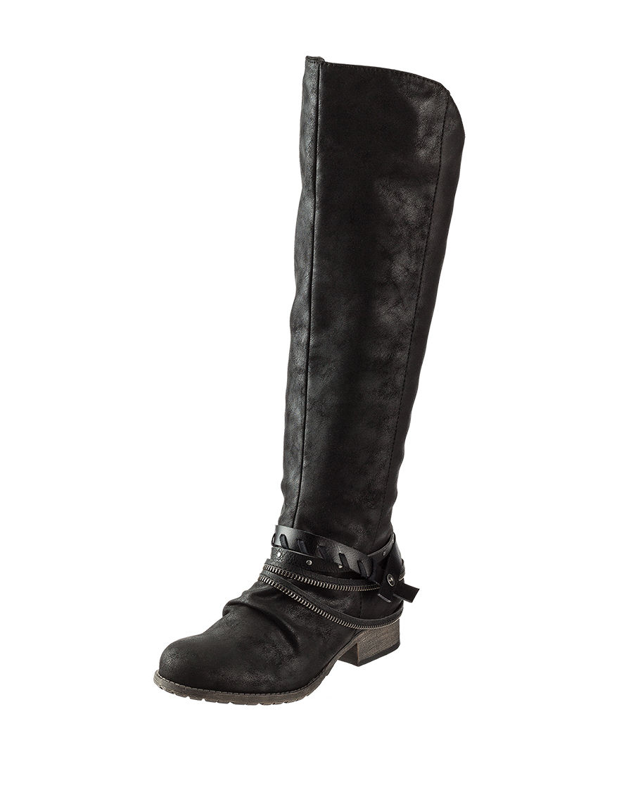 Jellypop Black Riding Boots