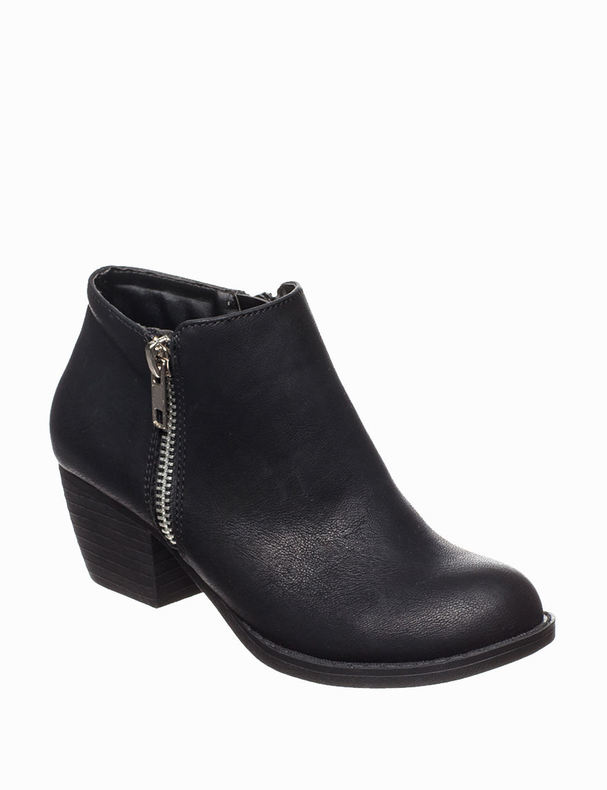 Union Bay Black Ankle Boots & Booties