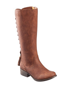 Steve Madden Tan Ankle Boots & Booties