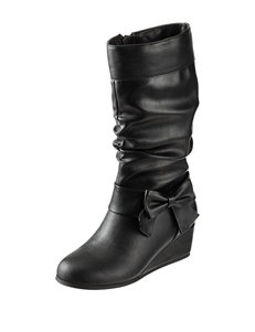 143 Girl Holly Wedge Boots – Girls 11-5
