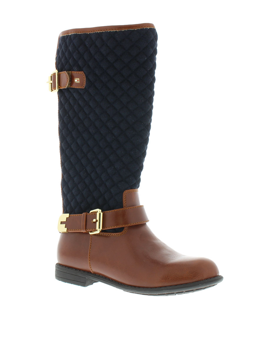 Tommy Hilfiger Brown / Blue Ankle Boots & Booties