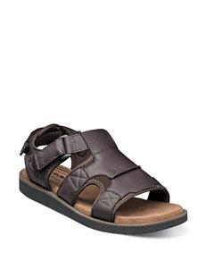 Nunn Bush Brown Fisherman Sandals