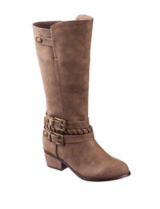 Sugar Taupe Ankle Boots & Booties