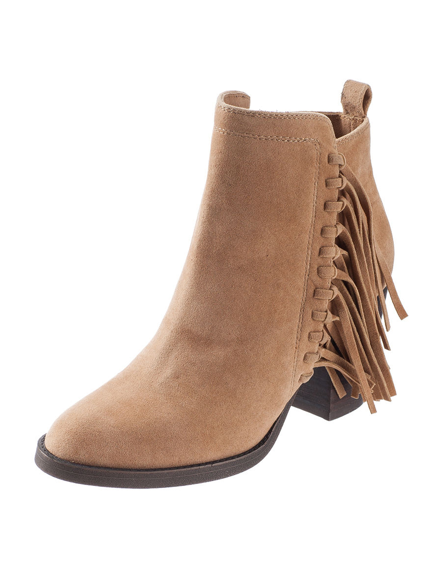 Rampage Brown Ankle Boots & Booties