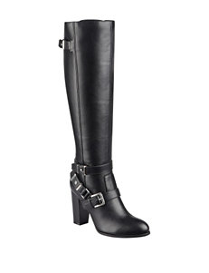 G by Guess Black Riding Boots