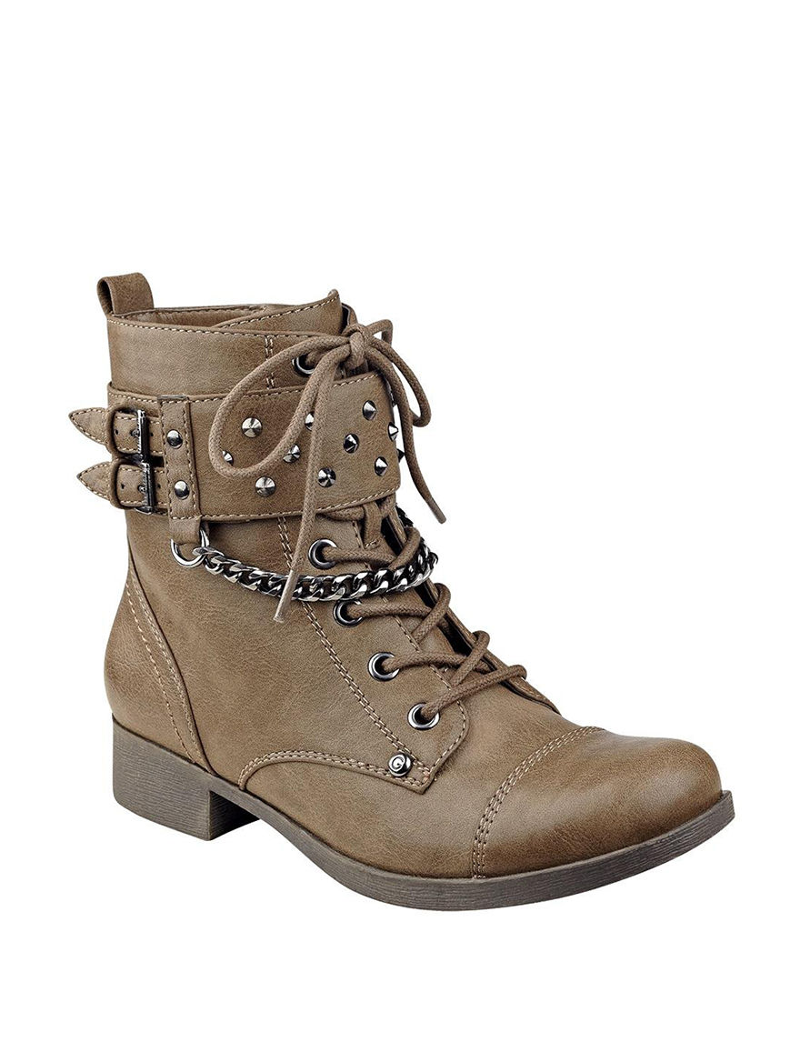 G by Guess Brown Ankle Boots & Booties