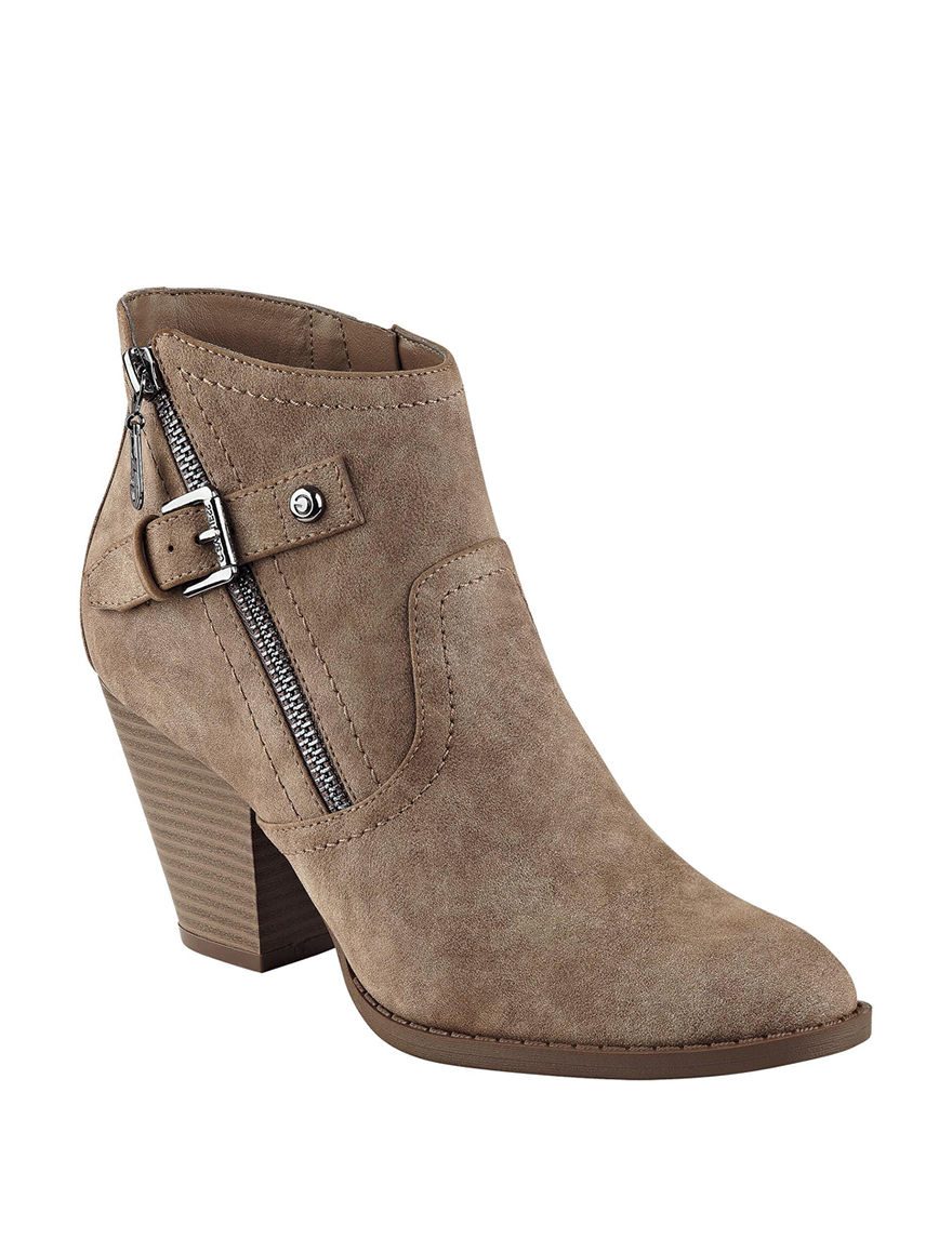 G by Guess Taupe Ankle Boots & Booties