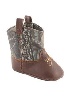 Wee Kids Camo Boot Crib Shoes – Baby 0-3