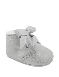 Wee Kids Silver Ankle Boots & Booties