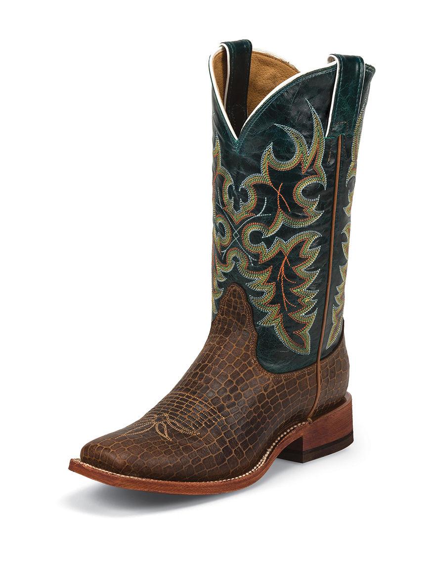 Nocona Cognac Western & Cowboy Boots