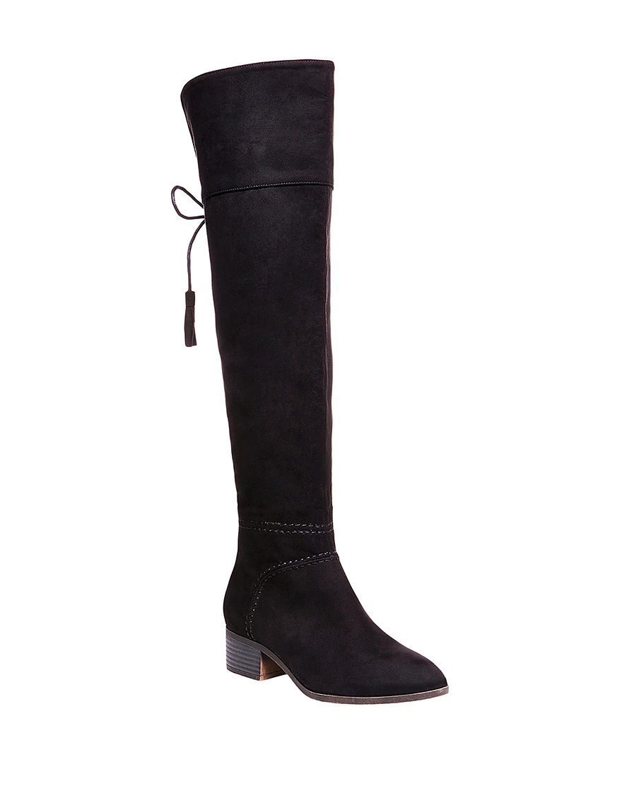 Madden Girl Black Riding Boots