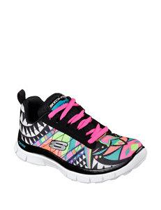 Skechers Skech Appeal Arrowhead Lace-Up Shoes – Girls 11-5