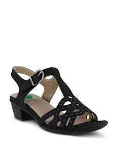 Spring Step Scale Sling Back Sandals