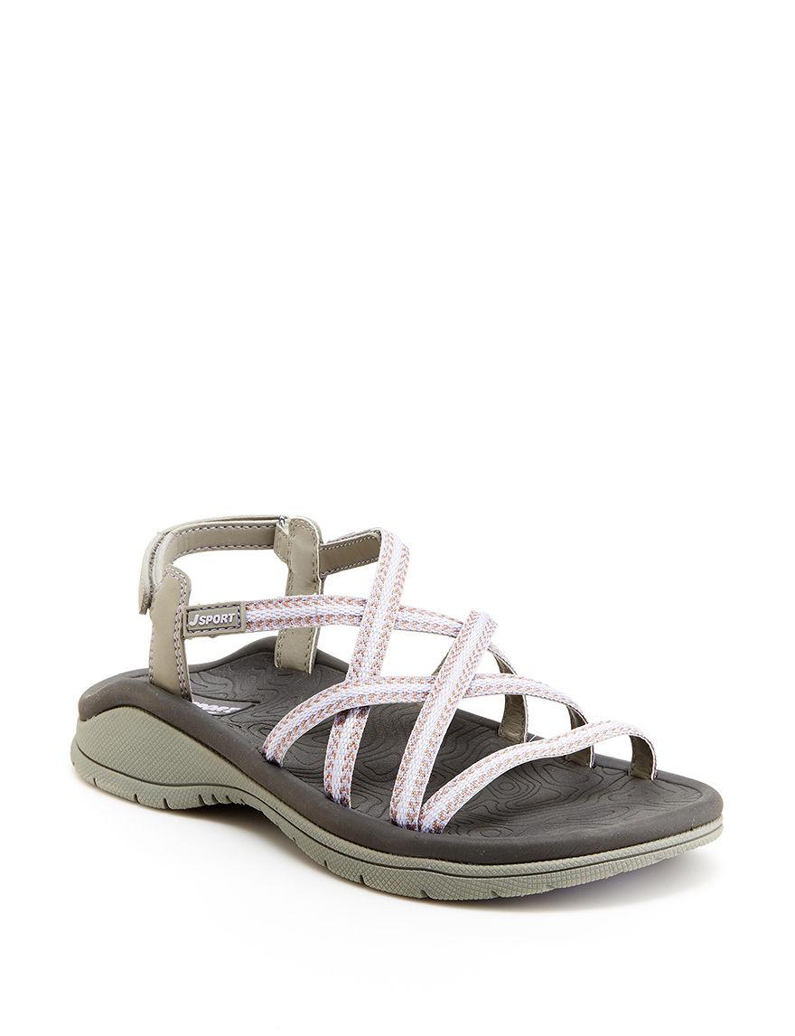 JSport by Jambu Lavender Sport Sandals