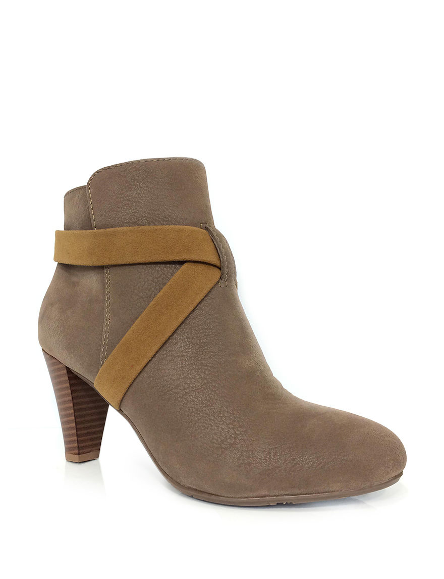 Groove Footwear Taupe Ankle Boots & Booties