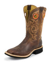 Tony Lama Tan Goat Cowboy Crepe® Western Boots
