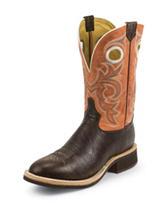 Tony Lama Tan Crunch Cowboy Crepe® Western Boots
