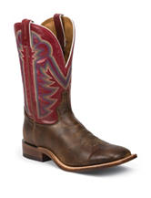 Tony Lama Tan Crush Blaze Western Boots