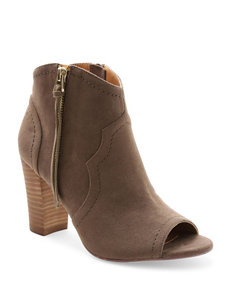 XOXO Taupe Ankle Boots & Booties