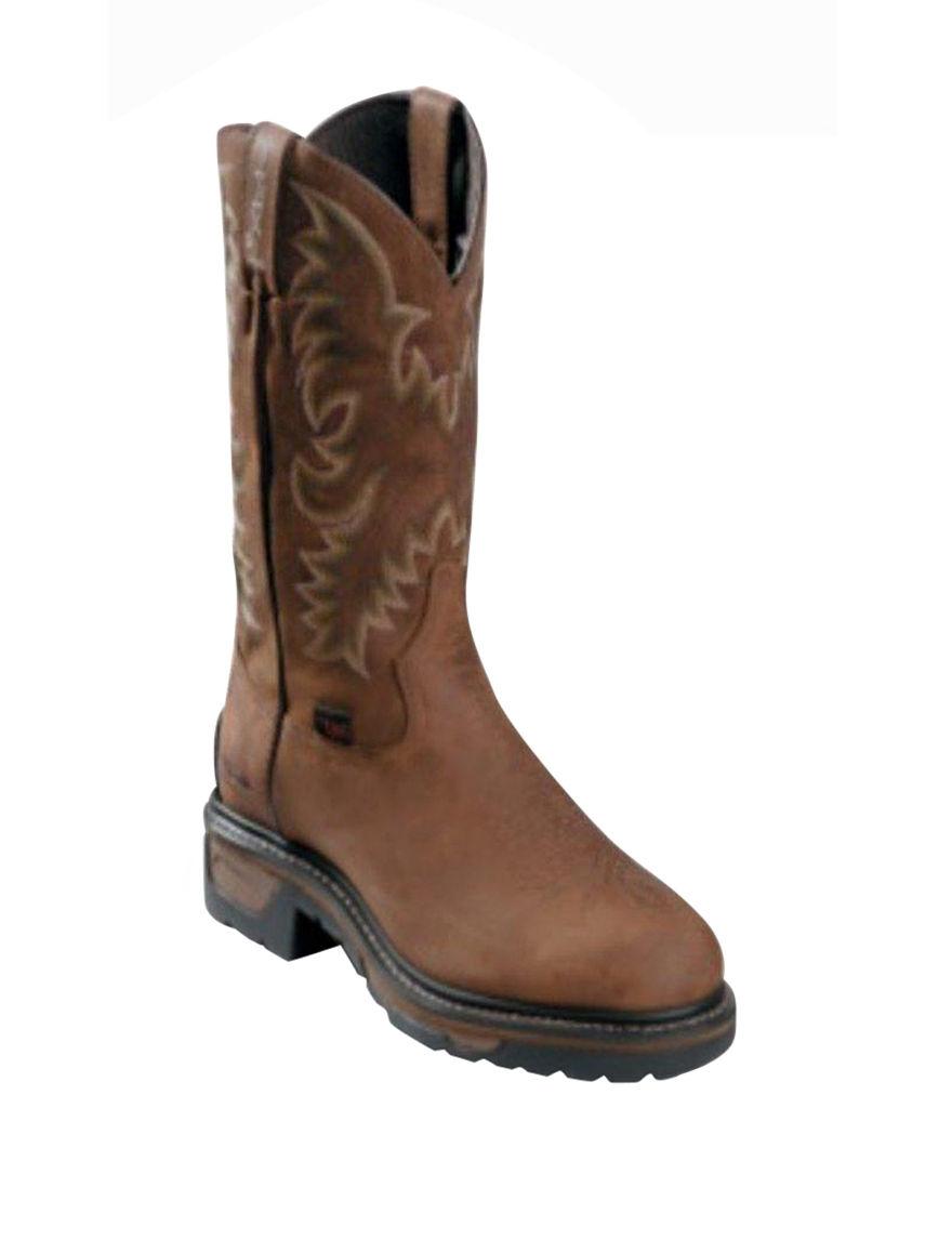 Tony Lama Brown Western & Cowboy Boots