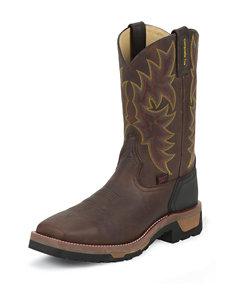 Tony Lama Bark Badger Stockman Western Boots