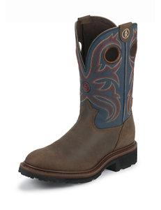 Tony Lama Oak Crazy Buffalo 3R™ Western Boots