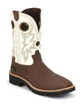 Tony Lama Tan Cheyenne Buffalo 3R™ Western Boots