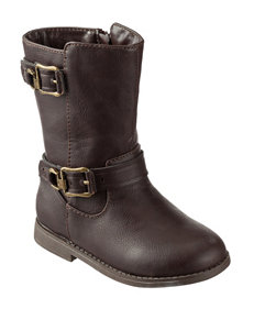 143 Girl Brown Riding Boots