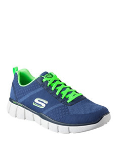 Skechers Navy / Lime