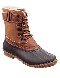 JBU Brown Rain Boots Winter Boots