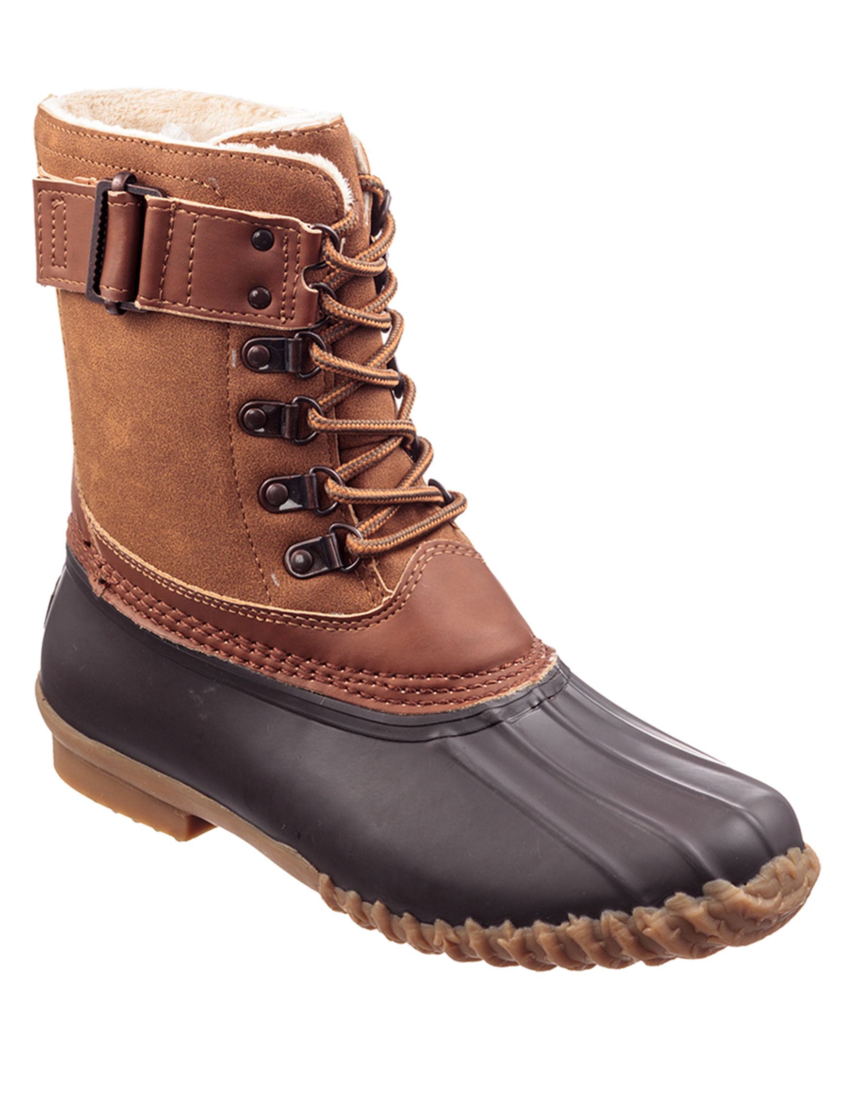 JBU Brown Rain Boots Winter Boots